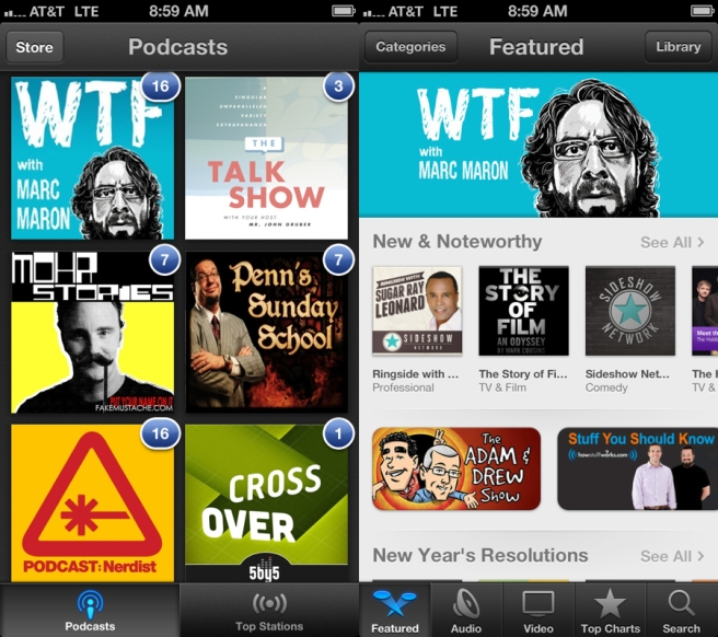 apple podcast app itunes ios
