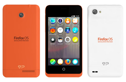 firefox phone OS debut shipping launch