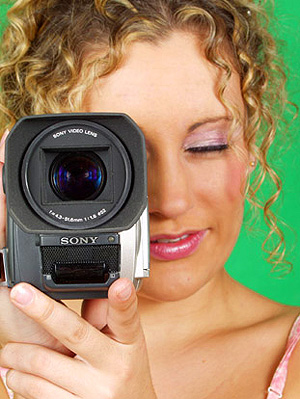 girl with camera marketing websites business