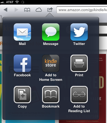 free kindle store web app for ipad and ios